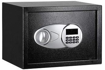AmazonBasics Caja fuerte 14L color negro 2