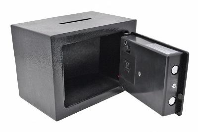 Caja Fuerte de Deposito Pequena Electronica Anti Bounce
