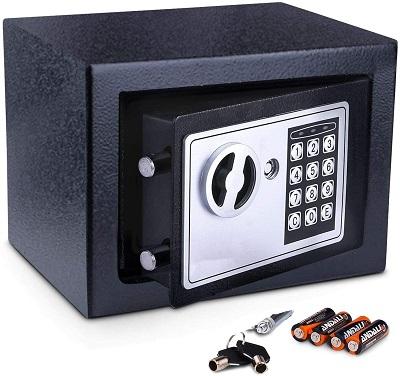 Meykey Caja Fuerte Pequena Caja Seguridad
