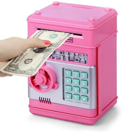 Moneda electronica para ninos ATM